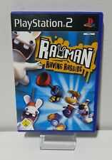 PLAYSTATION 2 PS2 Jeu Rayman Lapin Crétin Emballage D'Origine + Manuel A5475