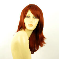 mid length wig for women smooth copper intense ref: lili rose 350 PERUK
