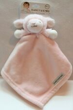 New Plush Pink Sleepy Lamb Security Blanket Blankets & Beyond Lovey Nunu Nwt