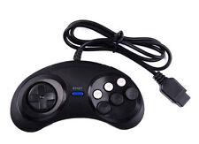 6 Botón Controlador Pad Gamepad para Sega Mega unidad o Genesis & sistema maestro