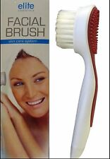 Elite Essentials Facial Brush & Massage Cleans & Exfoliates All Skin Types -SALE