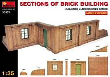MiniArt 35552 1 35 Sections of Brick Building