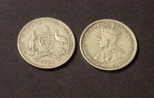 1931 Australian .925 Silver Florin. Decent collectable coin.