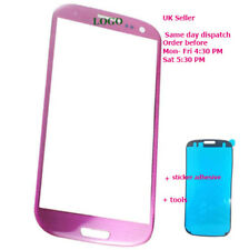 Samsung Galaxy S3 III i9300 i9305 Front outer Glass Screen Replacement S3 Pink