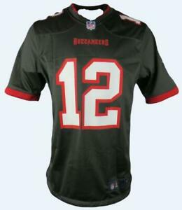 Tampa Bay Buccaneers Official Nike NFL Mens Game Jersey 'BRADY 12'