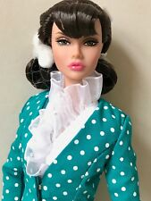 FASHION ROYALTY POPPY PARKER Sign of the Times Brunette 12 in (environ 30.48 cm) NUDE DOLL ONLY