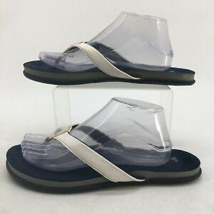 Adidas Supercloud Plus Princess Flip Flops Mens 10 Blue Casual Flats Sandals