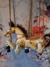 Marionette Pferd Holz 23 X 20 cm beweglich