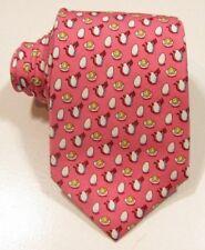Vineyard Vines Boy's All Over Deviled Egg Pink Tie
