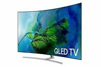 Samsung CURVED 65-Inch 4K Ultra HD (QLED) Smart TV [QN65Q8C - 2017 Model]