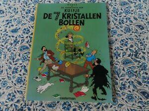 KUIFJE DE 7 KRISTALLEN BOLLEN (TINTIN 7 CRYSTAL BALL)] NEDERLANDS by HERGÉ DUTCH