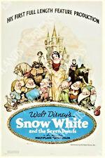 Snow White Movie Poster Fridge Magnet 2 x 3
