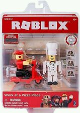 ROBLOX Series 1 WORK AT A PIZZA PLACE Figure Pack Exclusive Online Code  ~