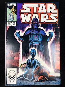 STAR WARS #80 Marvel 1984 RON FRENZ-Art DARTH VADER Cover (9.0 VF/NM)