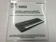 Yamaha SY85 - HXC CD-R setup for Gotek Floppy emulator 300+ disk img DSK