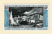 FRENCH ANTARCTIC (TAAF) - 1965 AIRMAIL - ADELIE LAND - Sc#C7 - MNH - E 2085