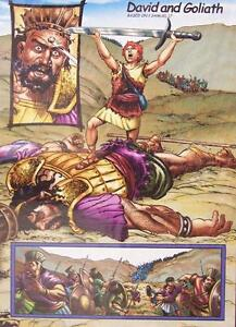 Jigsaw puzzle Biblical David and Goliath 1000 piece NEW Made in the USA