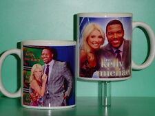KELLY Ripa and & MICHAEL Strahan - with 2 Photos Designer Collectible GIFT Mug