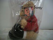 Avon Sammy Santa Plush Stuffed Bear 2001