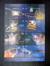 ARGENTINA 2012 Bats M/Sheet U/M FP9621