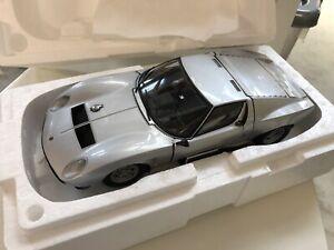 1:18 Kyosho  Lamborghini Miura Jota  SVJ Silver, #08315S, Rarity