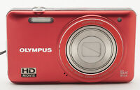 Olympus VG-130 Digitalkamera Kamera - 5x Wide Optical 4.7-23.5mm Optik rot