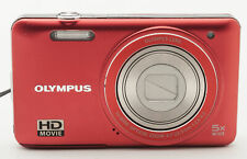 Olympus VG-130 Digitalkamera Kamera - 5x Wide Optical 4.7-23.5mm Optik rot