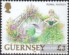 Regno Unito-Guernsey 690 (completa Edizione) nuovo linguellato 1996 Fiori