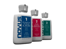 NOVUS 7136 Plastic Polish Kit 2 oz. cleans / restores plastics removes scratches