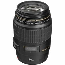 Canon EF 100mm f/2.8 Macro USM Lens for DSLR Cameras