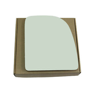 Replacement Upper Mirror Glass for Ford E150 E250 Econoline Right Side RH Towing