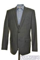 J. CREW Ludlow Solid Gray 100% Wool Mens Blazer Sport Coat Jacket - 40 R