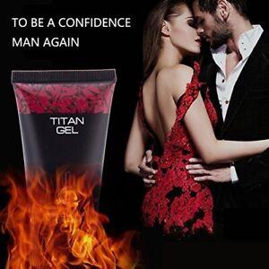 100% Original Titan Gel Male Enhancement Cream Max Size Enlargement Effective UK