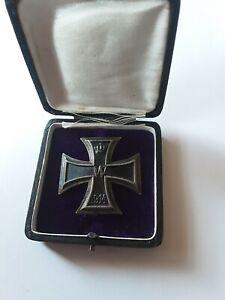 Orden Deutsches Reich Eisernes Kreuz 1.Klasse im Etui