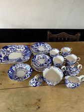 Royal Crown Derby Oriental Mikado Blue & White Coffee/Tea Set