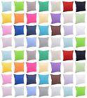 Solid Color Cushion Cover Pillowcase Cushion Cover Cotton Blend40x40,45x45,50x50