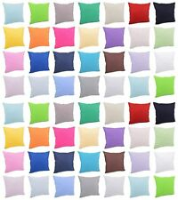 Kissenhülle Kissenbezug Dekokissen 100% Baumwolle 40x40, 40x60, 40x80, 50x50