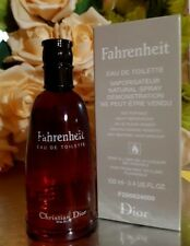 ❤️CHRISTIAN DIOR FAHRENHEIT 3.3oz/100ml in box,2006 year,VINTAGE VERSION!