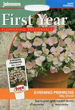 Johnsons Pictorial Pack - Flower - Evening Primrose Silky Orchid - 250 Seeds