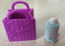 NEW Shopkins Season 2 Moose Toys Fluffy Baby #2-132 Blue Baby Swipes