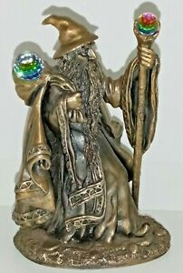The Hobbit Collection  Gandalf Pewter Figure with Crystals 1991 The Hobbit Rare