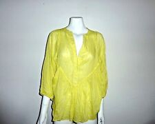 Country Road Silk smock top size S
