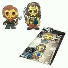 The Last of Us Pin Set David & Bill Naughty Dog  NYCC 2014