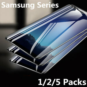 For Samsung S20 S10 S9 A31 S21 A51 A71 Tempered Glass Full Screen Protector Film
