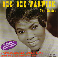 DEE DEE WARWICK - The Sixties Limited Edition CD The Mercury & Jubilee Sessions