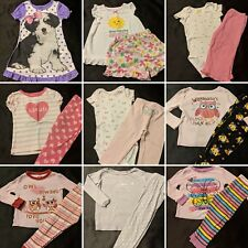 Baby Girl Size 18 Months Pajama Lot