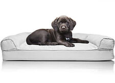 FurHaven Pet Dog Bed | Orthopedic Quilted Sofa-Style Couch Pet Bed for Dogs and