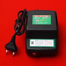Mini Transformer Converter Step Down Voltage Button From 220V To 110V 60Hz 200W