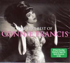 CONNIE FRANCIS - THE VERY BEST OF - 40 ORIGINAL RECORDINGS (NEW SEALED 2 CD)