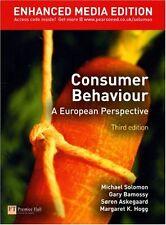 Consumer Behaviour: Enhanced Media Ed: A European Perspective,Michael R. Solomo